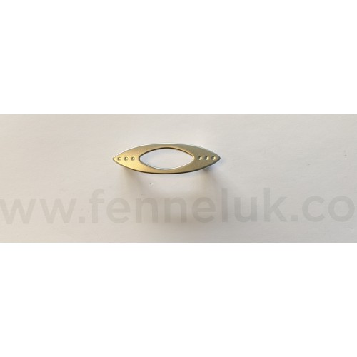 Cut Out Oval Pull Handle