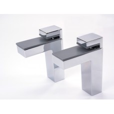 Linea Shelf Bracket Chrome Gloss
