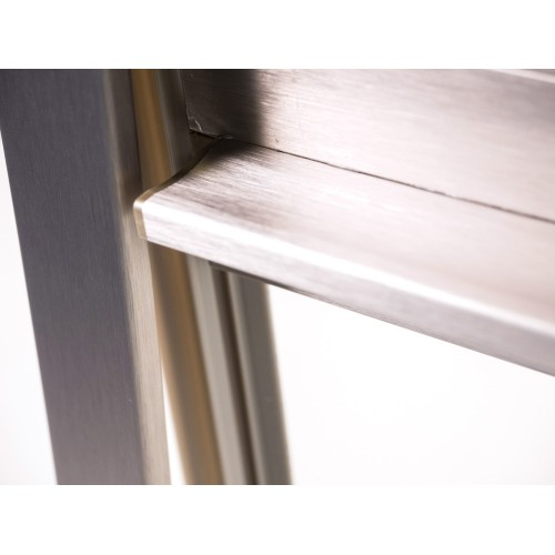 Set of replacement Stainless Steel Tracks for Modular Tambour Door