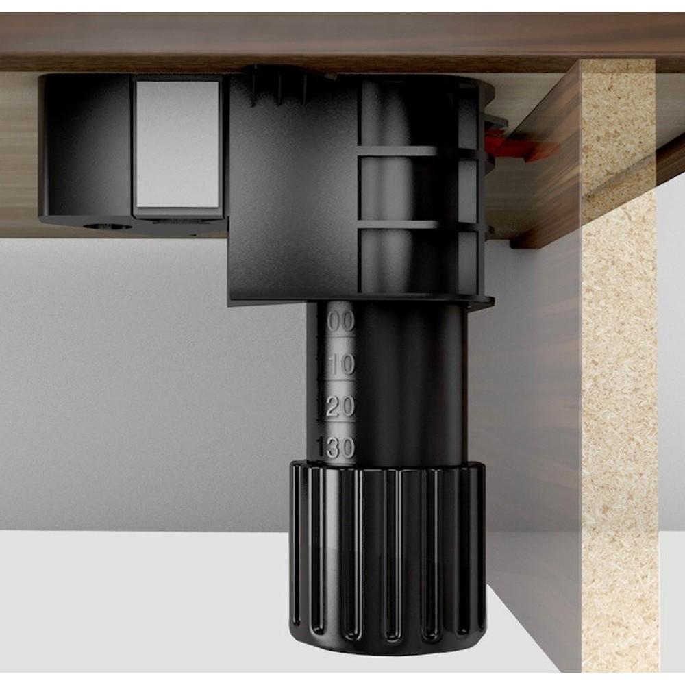Set of 4 folding screw fix cabinet leg 90 165mm inc 2 x for Sideboard 90 x 40
