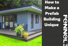 How to Make a Prefab Building Unique