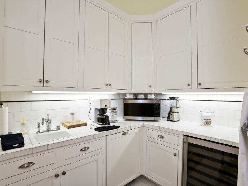 image shows kitchen cabinets, Fennel supply handles for these