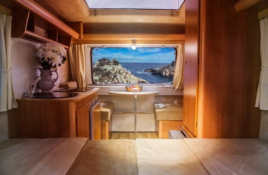 image of caravan interior for blog by Fennel UK on caravans of the future